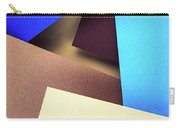 Abstract Composition With Colored Paper Carry-all Pouch