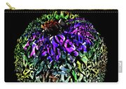 Abstract Cone Flower Digital Painting A262016 Carry-all Pouch