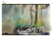 Abstract Contemporary Art Titled Humanity And Natures Gift By Todd Krasovetz  Carry-all Pouch