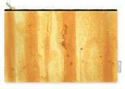 Abstract Contemporary Golden Yellow Painting Vibrant And Bold Yellow Gold By Madart Carry-all Pouch