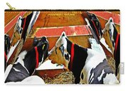 Abstract Cows Carry-all Pouch