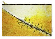 Abstract Crack Line On The Orange Rock Carry-all Pouch