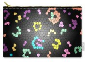 Abstract Creation With Small Shapes Colourful Carry-all Pouch