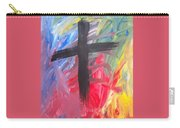 Abstract Cross Carry-all Pouch