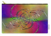 Abstract Cubed 317 Carry-all Pouch