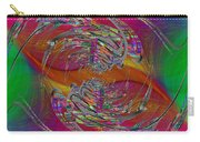 Abstract Cubed 320 Carry-all Pouch
