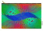 Abstract Cubed 328 Carry-all Pouch