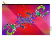 Abstract Cubed 344 Carry-all Pouch