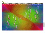 Abstract Cubed 355 Carry-all Pouch