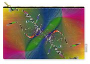 Abstract Cubed 356 Carry-all Pouch
