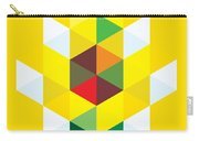 Abstract Cubes Carry-all Pouch by Gary Grayson