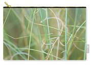 Abstract Curly Grass One Carry-all Pouch