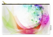 Abstract Curved Carry-all Pouch by Setsiri Silapasuwanchai
