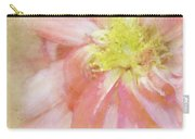 Abstract Dahlia In Pink Carry-all Pouch
