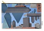 Abstract Dallas Carry-all Pouch
