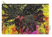 Abstract Dandelion Stained Glass Carry-all Pouch