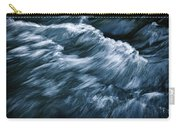 Abstract Dark Waves On The River Carry-all Pouch