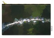 Abstract Dew On Reed Carry-all Pouch