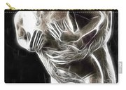 Abstract Digital Artwork Of A Couple Making Love Carry-all Pouch by Oleksiy Maksymenko