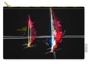 Abstract Digital Boats Carry-all Pouch