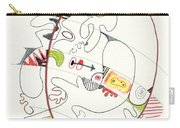 Abstract Drawing Fifty-four Carry-all Pouch