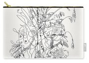 Abstract Drawing Fifty-nine Carry-all Pouch