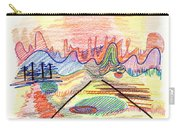 Abstract Drawing Five Carry-all Pouch