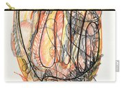 Abstract Drawing Forty-five Carry-all Pouch