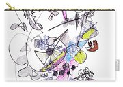 Abstract Drawing Seventy-two Carry-all Pouch