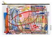 Abstract Drawing Sixty-eight Carry-all Pouch
