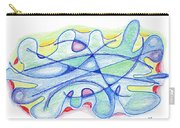 Abstract Drawing Sixty-five Carry-all Pouch