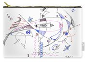 Abstract Drawing Sixty-four Carry-all Pouch