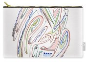 Abstract Drawing Sixty Carry-all Pouch