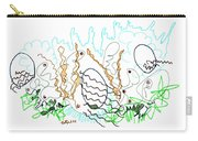 Abstract Drawing Sixty-one Carry-all Pouch