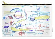 Abstract Drawing Sixty-three Carry-all Pouch
