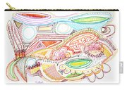 Abstract Drawing Sixty-two Carry-all Pouch