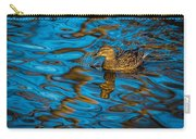 Abstract Duck Carry-all Pouch