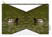 Abstract Ducks Carry-all Pouch