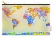 Abstract Earth Map 2 Carry-all Pouch by Bob Orsillo