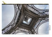 Abstract Eiffel Tower Looking Up 2 Carry-all Pouch