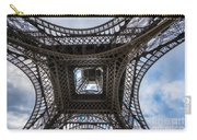 Abstract Eiffel Tower Looking Up Carry-all Pouch