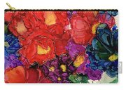 Abstract English Garden Carry-all Pouch