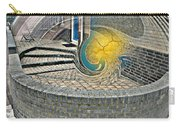 Abstract Entrada Twirl Break Carry-all Pouch