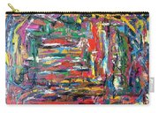 Abstract Expressionism Bvdschueren Carry-all Pouch