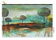 Abstract Fantasy Landscape Carry-all Pouch