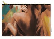 Abstract Female Back  Carry-all Pouch