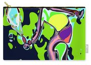 Abstract Female Tennis Player 2 Carry-all Pouch