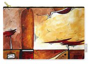 Abstract Figurative Art African Flame By Madart Carry-all Pouch