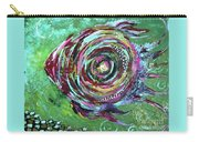 Abstract Fish Carry-all Pouch