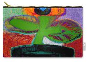 Abstract Floral Art 114 Carry-all Pouch